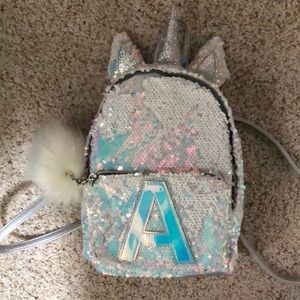 Justice mini backpack